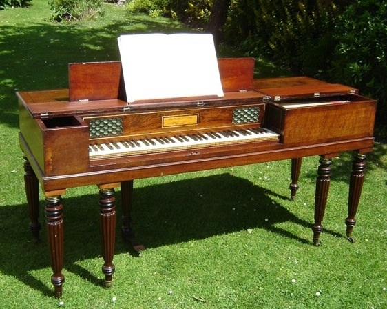 square pianos brief history